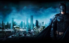 Обои Бэтмен, Batman, Начало, Begins