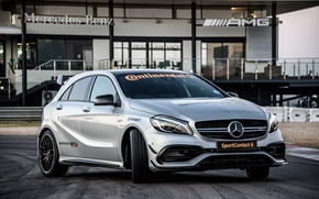 Картинка Mercedes-Benz, мерседес, AMG, амг, A-class, W176