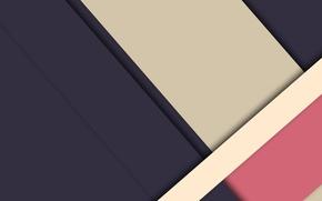 Картинка линии, синий, абстракция, розовый, геометрия, бежевый, material