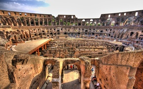 Картинка Рим, Италия, колизей