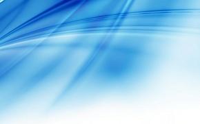 Обои полоски, белый, голубой