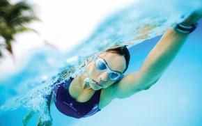 Картинка water, athlete, swimmer