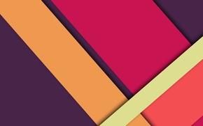 Картинка линии, сиреневый, розовый, wallpaper, геометрия, color, малиновый, material, desing