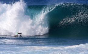 Картинка океан, спорт, волна, серфинг