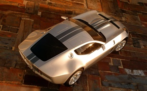 Обои Ford, concept, shelby, gr-1
