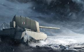 Картинка WoT, World of Tanks, Мир Танков, Wargaming Net, FV4005 Stage II