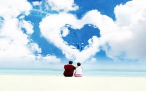 Картинка Hd обои на рабочий стол, love, любовь, он и она