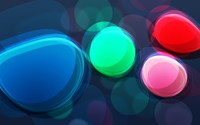 Обои цвета, круги, абстракция, яркость, wallpapers