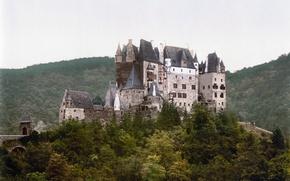 Обои Эльц, германия, Замок