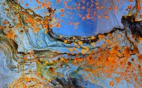 Картинка поверхность, металл, текстура, ржавчина, пятна