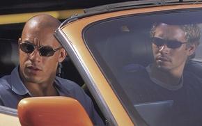 Картинка Вин Дизель, Пол Уокер, Форсаж, Vin Diesel, Paul Walker, The Fast and the Furious, Dominic …