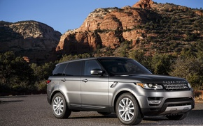 Обои спорт, Land Rover, Range Rover, Sport, ленд ровер, рендж ровер