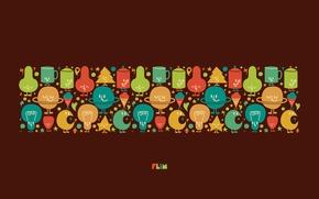 Картинка абстракция, узоры, краски, colors, гирлянды, лампочки, patterns, 1920x1200, abstraction, festoon, bulbs