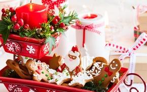 Обои еда, новый год, рождество, christmas