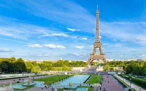 Картинка башня, париж, площадь