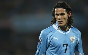 Обои Uruguay, Napoli, Cavani, Footballer, Edinson Roberto Cavani Gomez, Edinson Cavani