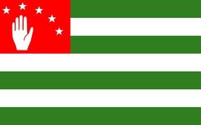 Картинка флаг, Абхазия, страна души