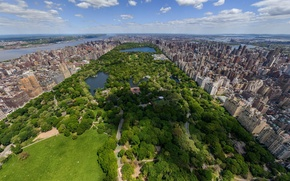 Картинка Нью-Йорк, New York, Центральный парк