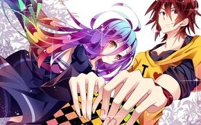 Картинка kawaii, girl, game, long hair, dress, anime, boy, survivor, asian, brothers, player, cute, friends, manga, …