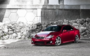Картинка красный, тюнинг, lexus, автомобиль, лексус