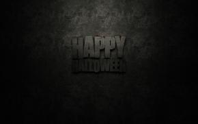 Картинка фон, надпись, темный, текстуры, веселый, Happy Halloween, Хелуин