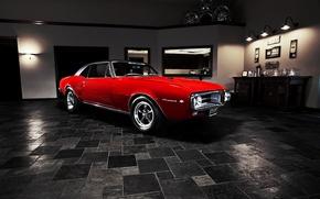 Картинка мускул кар, Pontiac, muscle car, 1967, понтиак, Firebird, фаербёрд