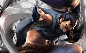 Картинка меч, арт, самурай, мужчина, League of Legends, LoL, Ясуо, Yasuo