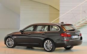 Картинка машина, авто, обои, бмв, BMW, xDrive, Touring, Modern Line, 530d