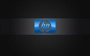 Картинка обои, логотип, офис, эмблема, Hewlett-Packard, копировальная техника