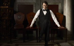 Картинка character, actor, Mads Mikkelsen, Hannibal Lecter