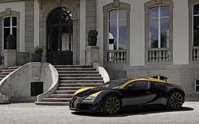 Картинка Bugatti, Veyron, Grand Sport, Vitesse, 2014
