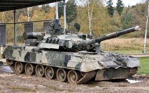 Картинка Россия, красота, мощь, танк, Т-80 УД, военная техника