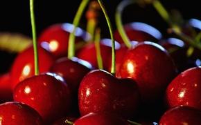 Картинка красный, ягода, черешня, искуситель