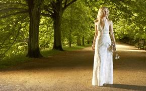 Картинка Park, Trees, English, Trumpet, Alison Balsom, Soloist