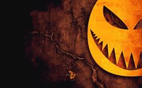 Обои Halloween, ужастик, трещины