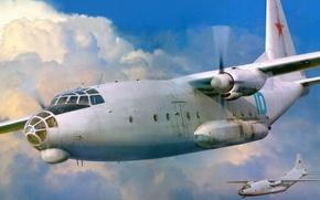 Картинка Camp, Ан-8, военно-транспортный самолёт