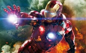 Обои Железный Человек, Iron Man, супергерой, костюм, The Avengers
