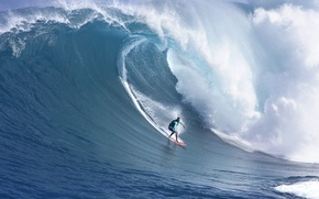 Картинка море, волна, серфинг