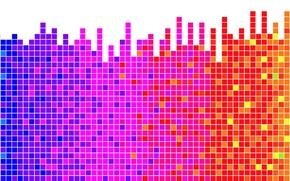Обои визуализация, Ритм, спектр