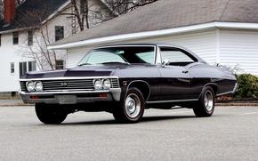 Обои 1967, chevrolet, impala, ss 427, hardtop, coupe, шевроле