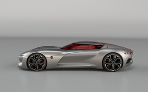 Картинка car, concept, Renault, wallpaper, luxury, gray, automobile, official wallpaper, desing, technology, beauty on wheels, high …