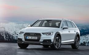 Обои ауди, белая, quattro, Audi