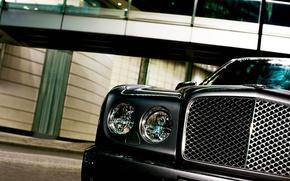 Обои Bentley, фары, Arnage, Бентли