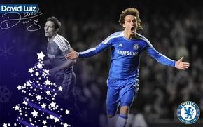 Картинка wallpaper, sport, football, player, David Luiz, Chelsea FC