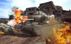 Обои BigWorld, WoT, tanks, Мир танков, Wargaming.Net, World of Tanks, танки, Великобритания, танк, United Kingdom, tank