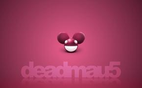 Обои музыка, креатив, фон, минимализм, клуб, красиво, тёмные, deadmau5