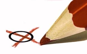 Обои карандаш, крестик, нолик