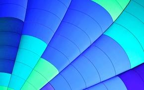 Обои лучи, линии, полосы, воздушный шар, цвет, дуга, зонт, парус, сектор