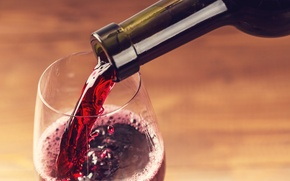 Картинка red, glass, wine, liquid, drink, bottle