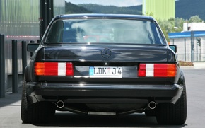 Картинка Mercedes-Benz, stance, w126